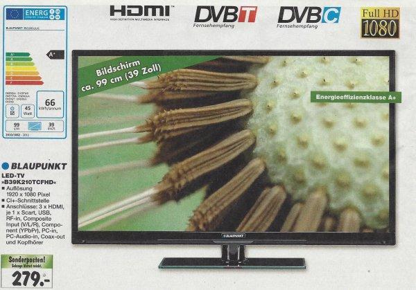 [Bundesweit?] Blaupunkt LED-TV 39 Zoll 3x HDMI Full-HD
