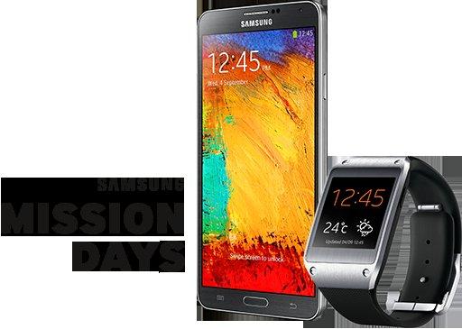Galaxy Gear Uhr kostenlos beim Kauf eines Galaxy Note 3 (Lokal Sihlvity -  Schweiz)