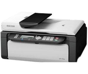 Ricoh SP100SFe Laser-Kombigerät (Print,Fax,Scan,Copy), sehr kompakt, fast 20 € = fast 20% sparen