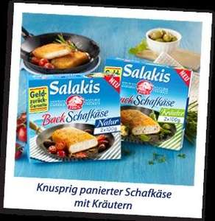 Vorschau : Salakis Backkäse - Geld zurück Aktion !