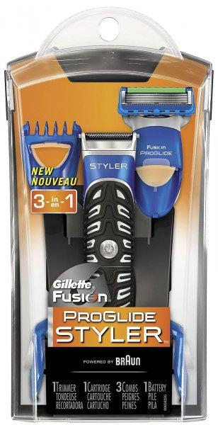Gillette Fusion ProGlide Styler bei Real für nur 7,96 (durch 5€ Gutschein + 20% auf Gillette)