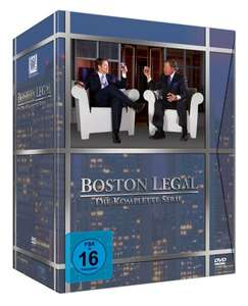 Boston Legal - Die komplette Serie [27 DVDs] für 35,50€ @ Amazon.de