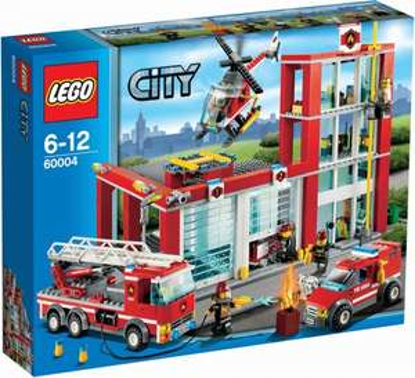Thalia (online): LEGO City 60004 - Feuerwehr-Hauptquartier, ab 50,08 Euro