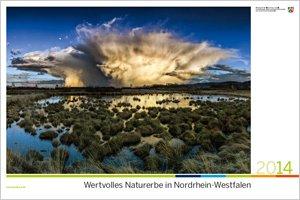 """UPDATE Wandkalender 2014 """"Wertvolles Naturerbe in NRW"""" (DIN A2) [VERGRIFFEN]"""