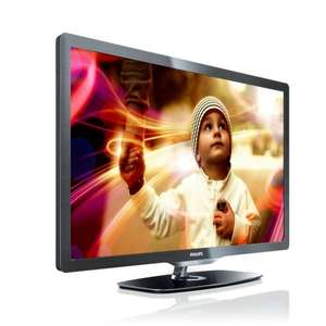 Philips 32PFL6606K/02 81 cm (32 Zoll) LED-Backlight-Fernseher, EEK A (Full-HD, 400 Hz PMR, DVB-T/-C/-S2, Smart TV) für 71,05€ Amazon