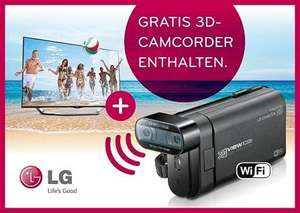 LG55LA6918 + 3D Camcorder im Amazon TV Deal des Tages