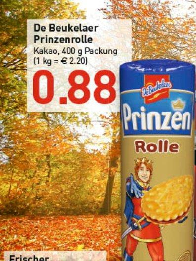 [Marktkauf RHEINRUHR und OWL ] Prinzen Rolle De Beukelaer  ab Montag 11.11 für  0,88€