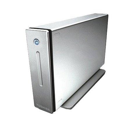 "Toshiba externe Festplatte HDD StorE ALU 3,5"" 640 GB"