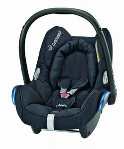 Maxi-Cosi CabrioFix Total Black (Babyschale) @ Amazon.co.uk ~98,97€ [Idealo 155,89 EUR]