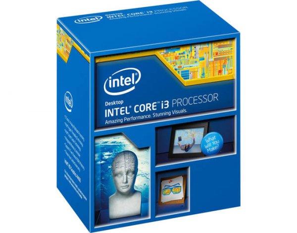 Intel Core i3-4130, 2x 3.40GHz, boxed Haswell Sockel 1150 @mp.de für 98,30€