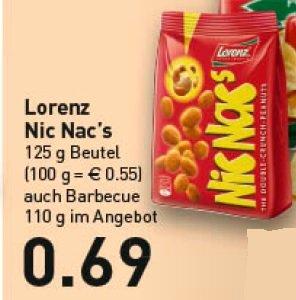 [Marktkauf, evtl. nur RHEINRUHR und OWL] Nic Nac's 125g für 0,69€