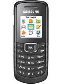 Mobildiscounter Samsung E-Serie - free 5 mit 100 Minuten Aktion o2  24 Monate Laufzeit für effektiv 0€
