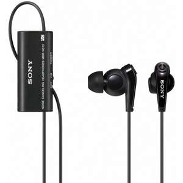 """Sony™ - Noise Canceling In-Ear-Kopfhörer """"MDR-NC13"""" (Schwarz) ab €18,98 [@Sony.de]"""