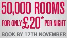 Hotel: Ramada Zimmer in UK für £20 (24,- €) pro Nacht (Dezember - Juni)