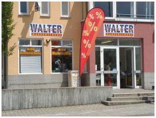 LOKAL: Schuh Walter: Alle Männer-Schuhe max. 50 €