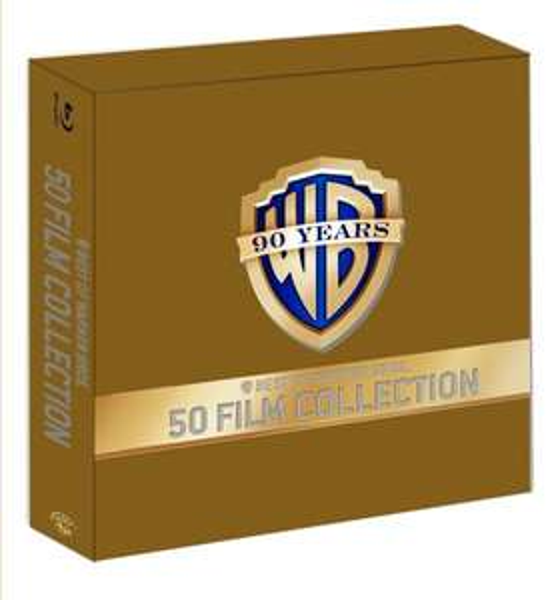90 Jahre Warner Bros. Jubiläums-Edition - 50 Film Collection (52 Discs) [Blu-ray] o. [98 DVDs] Version für je 189,97 € @ Amazon Blitzangebot