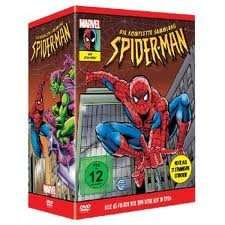 New Spiderman Boxset, Staffel 1-5 (10 Discs) @Amazon.de