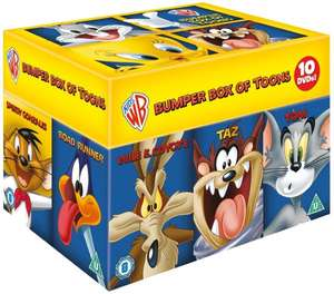 Looney Tunes Big Faces Box Set (O-Ton) [10-DVDs] [2011] inkl. Vsk für 19,96 € @ Amazon.uk