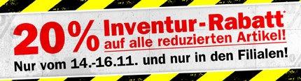 20% Inventur-Rabatt im Louis Shop auf reduzierte Artikel