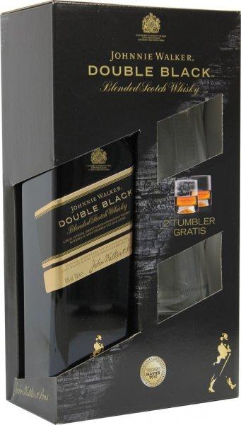 [Kaufland] Johnnie Walker Double Black Whisky + 2 Tumbler für 22,99€
