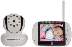 [amazon.co.uk] Motorola MBP36 Digitales Babyphone mit 3,5 Zoll Farbdisplay und Kamera