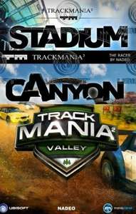 [Bundle] TrackMania² Stadium + TrackMania² Canyon + TrackMania² Valley
