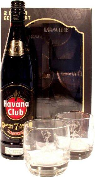 [Offline] Edeka - 7 jähriger Havana Club in Geschenkbox mit 2 Gläsern