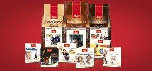 Kaufland 1 kg Melitta Bella Crema ganze Bohne + Film DVD