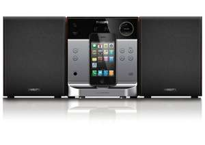 Philips Docking-Entertainment-System DCM129/12 für iPod/iPhone/CD/UKW 38,95 Euro inkl. Versand