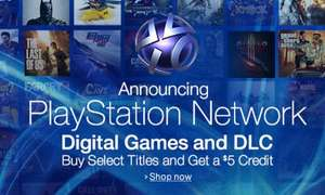 Playstation Network - günstigere digitale Playstation 3 und 4 Spiele [Amazon.com]