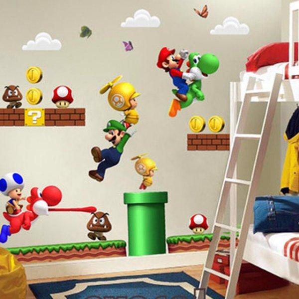 [ebay] Super Mario Wandtatoos das große Pack schon für 2,50 Euro inkl. Versand