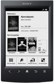 Sony Reader PRS-T2 Schwarz/Weiss für 78€ @Rakuten