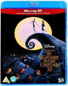 Zavvi - Nightmare before Christmas 3D Blu-Ray mit dt. Ton
