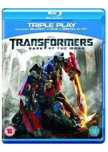 Transformers: Dark of the Moon (Blu-ray + DVD + Digital Copy) für 6,25€ @Base