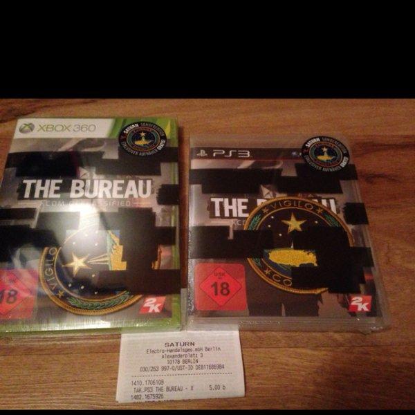 [Berlin Saturn Alexanderplatz] xbox 360/PS3 Spiel The Bureau Saturn Edition