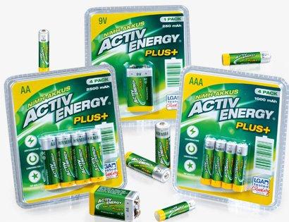 [ALDI SÜD] NiMH-Hochleistungsakkus ACTIV ENERGY®  für 3,99€