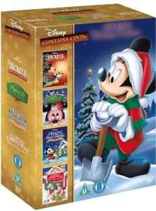 (UK) Mickey Mouse Christmas Collection [4 x DVD] für 9,46€ @ Zavvi (teilweise mit deutschem Ton)