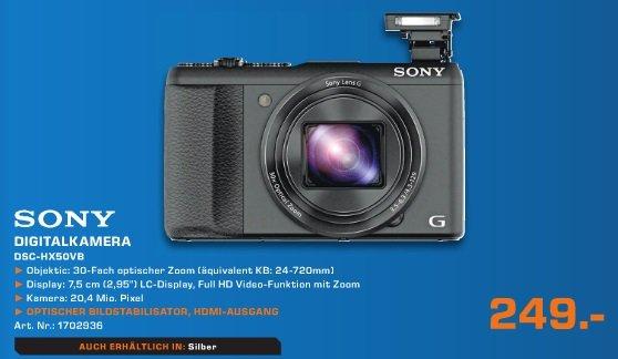 [Saturn Köln] Sony DSC HX 50V B 249 € 23% billiger als IDEALO 13.11.2013