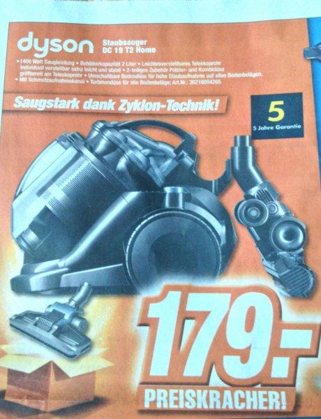 Dyson DC 19 T2 Home, Beutelloser Sauger, Lokal: Expert 47475 Kamp-Lintfort