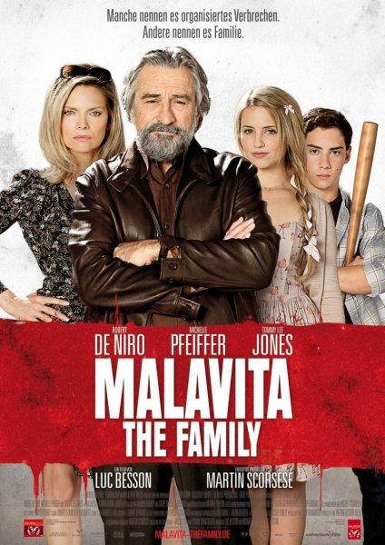 """[2.Chance] Günstig zu zweit ins Kino zu """"Malavita - The Family"""" am 19.11.2013 um 20:00 Uhr (Nur jeder 3. Anruf gewinnt ! Anmeldung ab 14.11.)"""