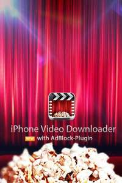 Kinokiste - iPhone video Downloader mit AdBlock für iPhone