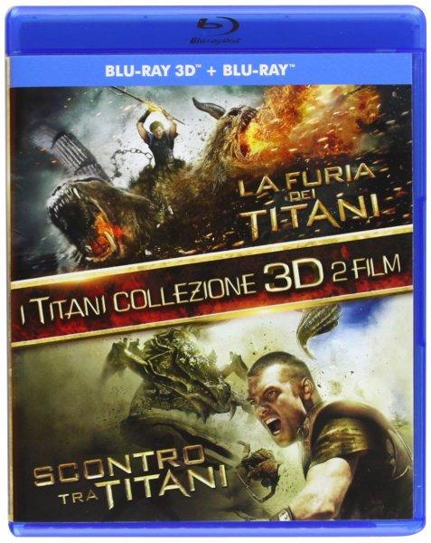 Kampf der Titanen & Zorn der Titanen [Blu-ray + 3D Blu-ray]  (4-Discs)inkl. Vsk für 14,99 € @ Amazon.es