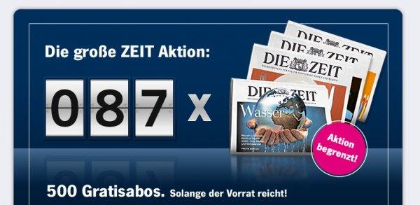 """4 Wochen """"Die Zeit"""" komplett gratis!"""