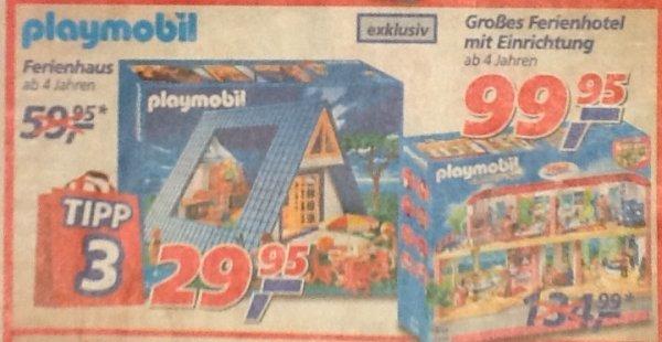 [Real Filiale] - Playmobil Ferienhaus 3230 zum Bestpreis
