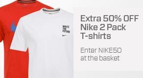 Nike T-Shirts im Doppelpack für ~14,20 Euro.. mehrere Modelle zur Auswahl!