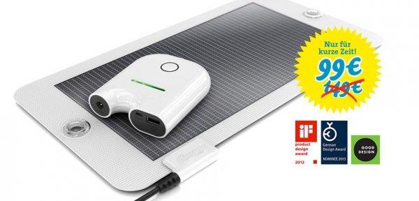 Solar Ladegerät Starter Kit - 50€ günstiger!!!
