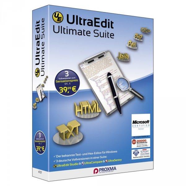 Ultra Edit Ultimate für 9,99€ statt 71,95€