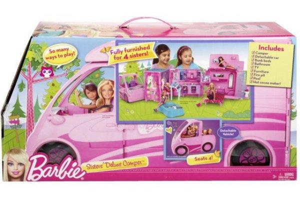 Barbie Deluxe Pferde- und Wohnmobil - Amazon UK 57,32 €