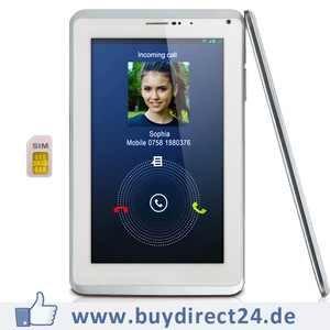 Zixoon M7 günstiges 7 Zoll Tablet / Padfone mit 3G und Navigation