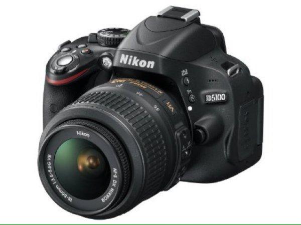 Nikon D5100 18-55mm VR Kit + Tasche + SD-Card